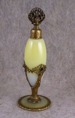 Rare Devilbiss Jeweled Steuben Glass 1920s Antique Perfume Bottle Gorgeous Work | eBay