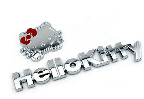 Auto Car Emblem Decal Sticker for 3D Hello Kitty - http://www.caraccessoriesonlinemarket.com/auto-car-emblem-decal-sticker-for-3d-hello-kitty/  #AUTO, #Decal, #Emblem, #Hello, #Kitty, #Sticker #Hello-Kitty