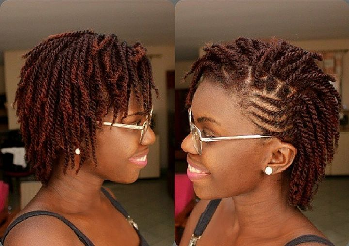 41+ Natural hair twist styles for short hair trends