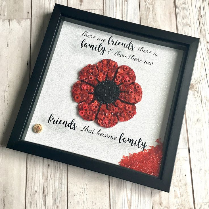 A custom order, fully embellished poppy in a medium 35cm frame - such a statement piece xx