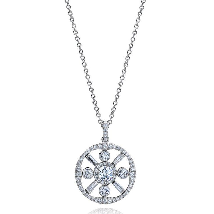Jeffrey Daniels Diamond Pendant