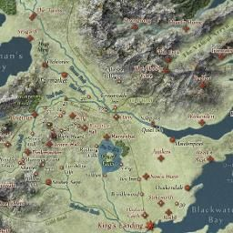 Interactive map with spoilers control        Labels No Labels Spoilers Through: AGOT-0: Prologue  Chapters  Episodes  Show Regions:  Nobility of Westeros   Constitue...