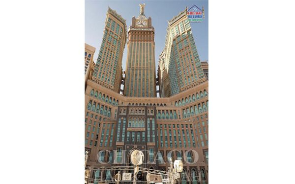 3 days in Madinah at 5 Star Hotel Triple Occupancy (3 Beds) including Meals (Breakfast and Dinner).  4 days in Makkah at 5 star hotel Zam Zam Tower Includes Breakfast and Dinner.  5 days in Tents of Mina - Arafat and Muzdalifa includes Meals (Breakfast, Lunch and Dinner)