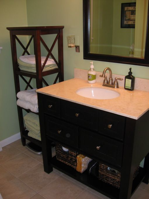 Hgtv bathrooms on a budget bathroom on a budget for Small half bathroom ideas on a budget