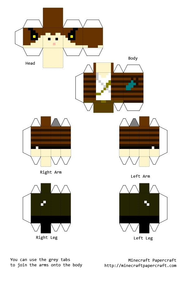 Minecraft Food Print Outs Free