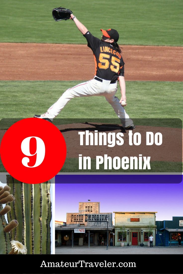 9 Things for baseball fans, lovers of art, lovers of golf, lovers of music, lovers of food, lovers or hiking, and lovers of nature
