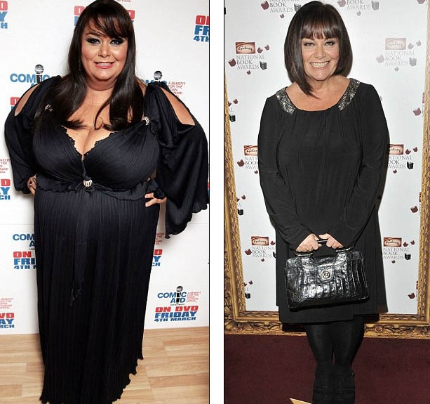 Dawn French Weight Loss You'd expect that losi...