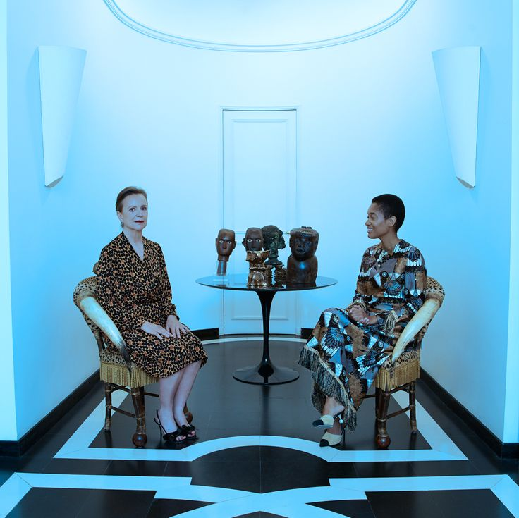 Read about Tamu McPherson and Francesca Taddei and shop their outfits and vintage on www.LaDoubleJ.com