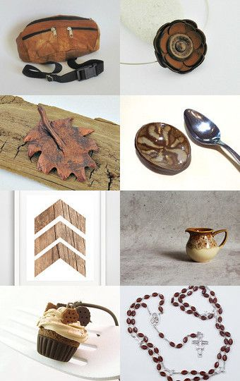 Unique brown gifts by CrochetKnitt on Etsy--Pinned with TreasuryPin.com