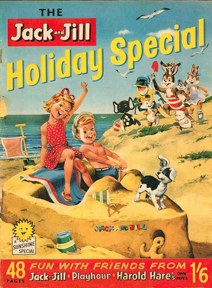 Jack and Jill Holiday Special 1962. Oh, the waiting for the holiday special of your favourite comic!