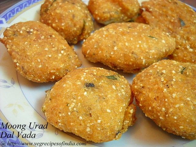 Moong Urad Dal Vada Recipe, How to make Moong Urad Dal Vada Recipe