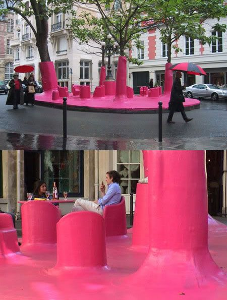 rethinking public space | art installation