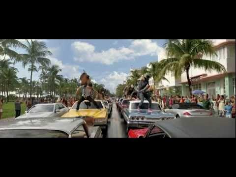 """STEP UP 4 REVOLUTION 3D - Scena d'apertura (v.o.) dancing """"Let's Go"""" - Travis Barker"""