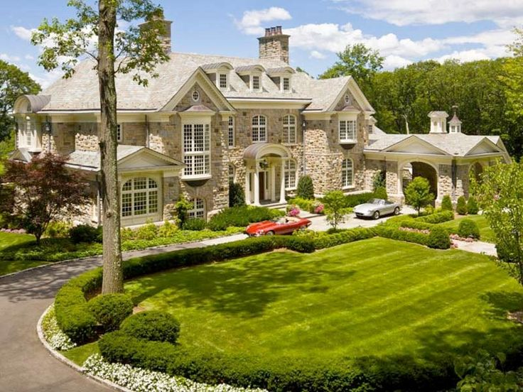 Gorgeous also a symmetrical house with just a touch of for High end real estate nyc