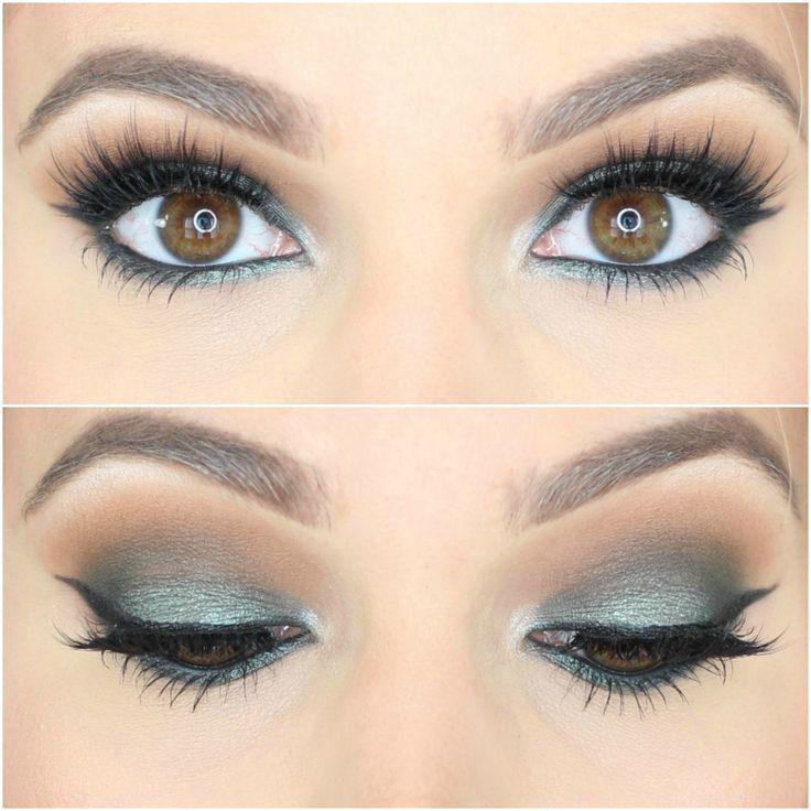 Best 25 Green Smokey Eye Ideas On Pinterest  Green -5746