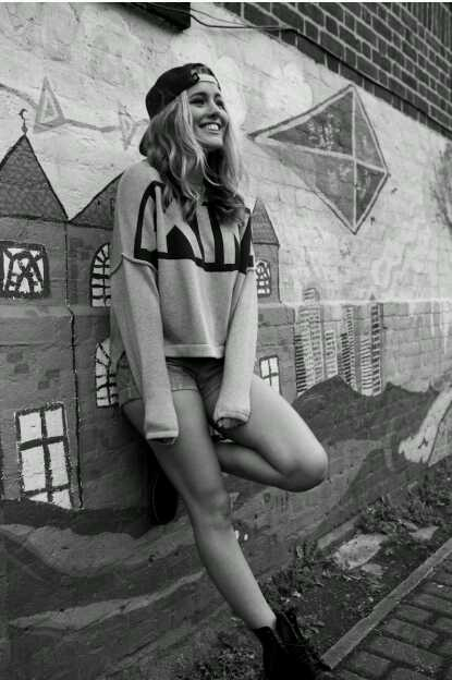 I love Caggie Dunlop's fashion style, this is an image from her ISAWI range- I really like the relaxed vibes her style creates
