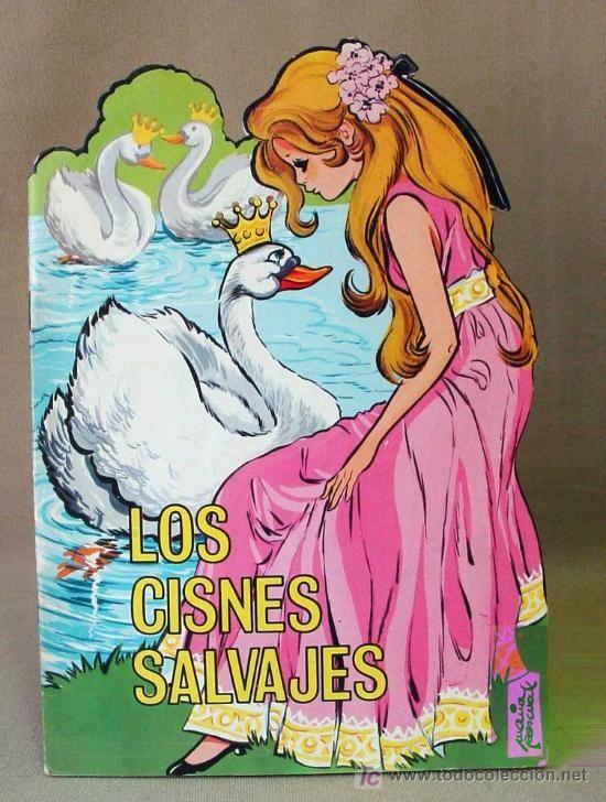 LOS CISNES SALVAJES, CUENTO TROQUELADO, MARIA PASCUAL, EDICIONES TORAY, BARCELONA, 1970S (Libros Antiguos, Raros y Curiosos - Literatura Infantil y Juvenil - Cuentos)