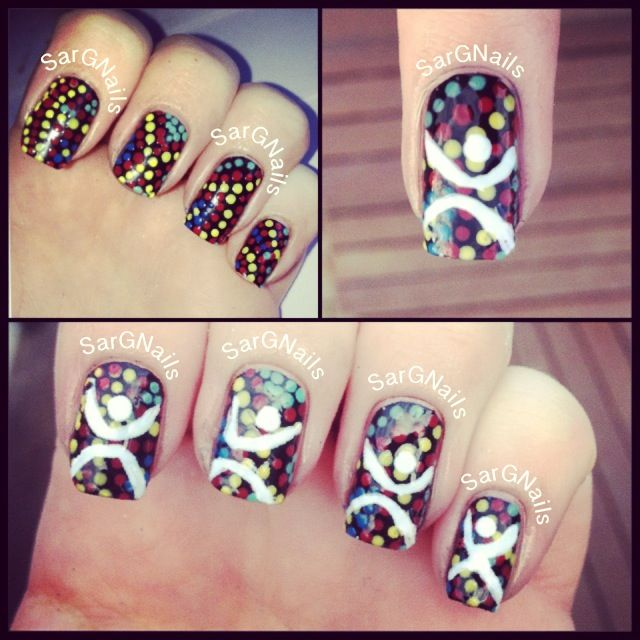 NAIDOC Week 2013 Nails