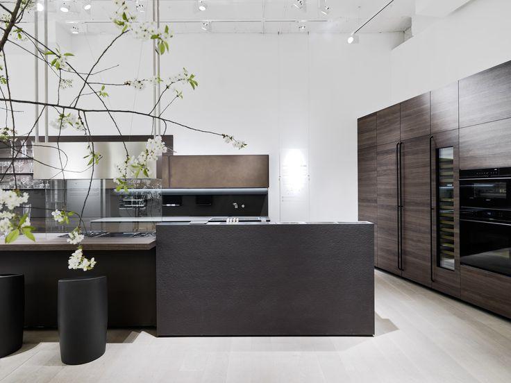 artematica valcucine flagship store milan showroom kitchens cabinets