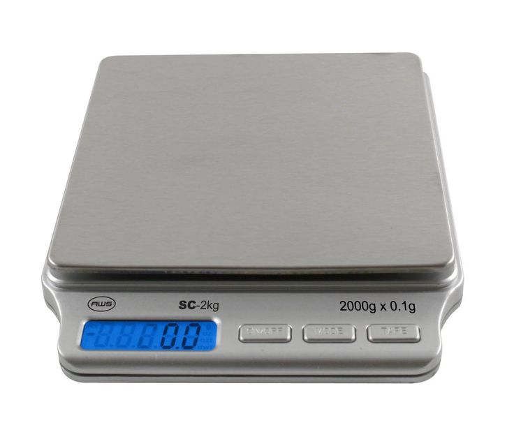 American Weigh Scales Amw-Sc-2Kg Digital Pocket Scale From American Weigh