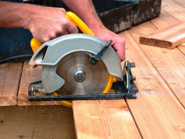 DIY Network explains how a circular saw works, the different types of blades and how best to use it.