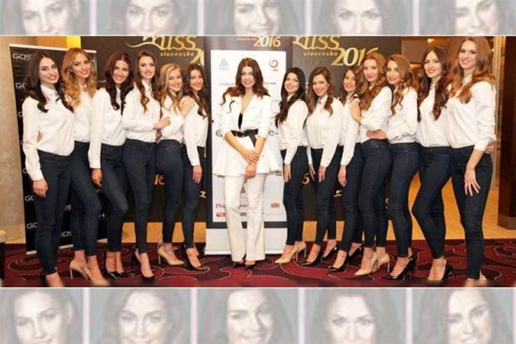 Kristína Cincurová Miss Slovensko 2016 finalist awarded with 'Miss Press' Award
