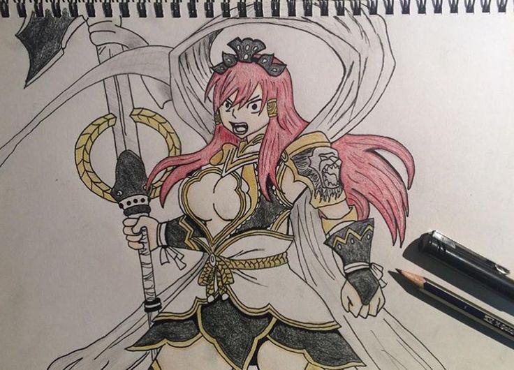 Erza Scarlet Nakagami armour