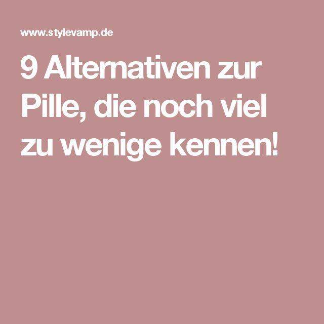9 Alternativen zur Pille, die noch viel zu wenige kennen!
