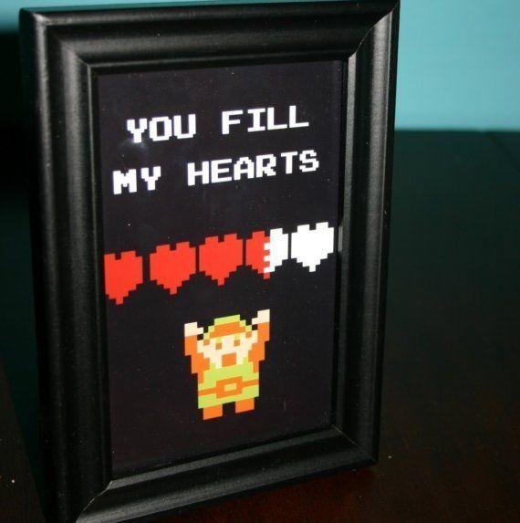The 8 best images about Sassy link – Legend of Zelda Valentine Card