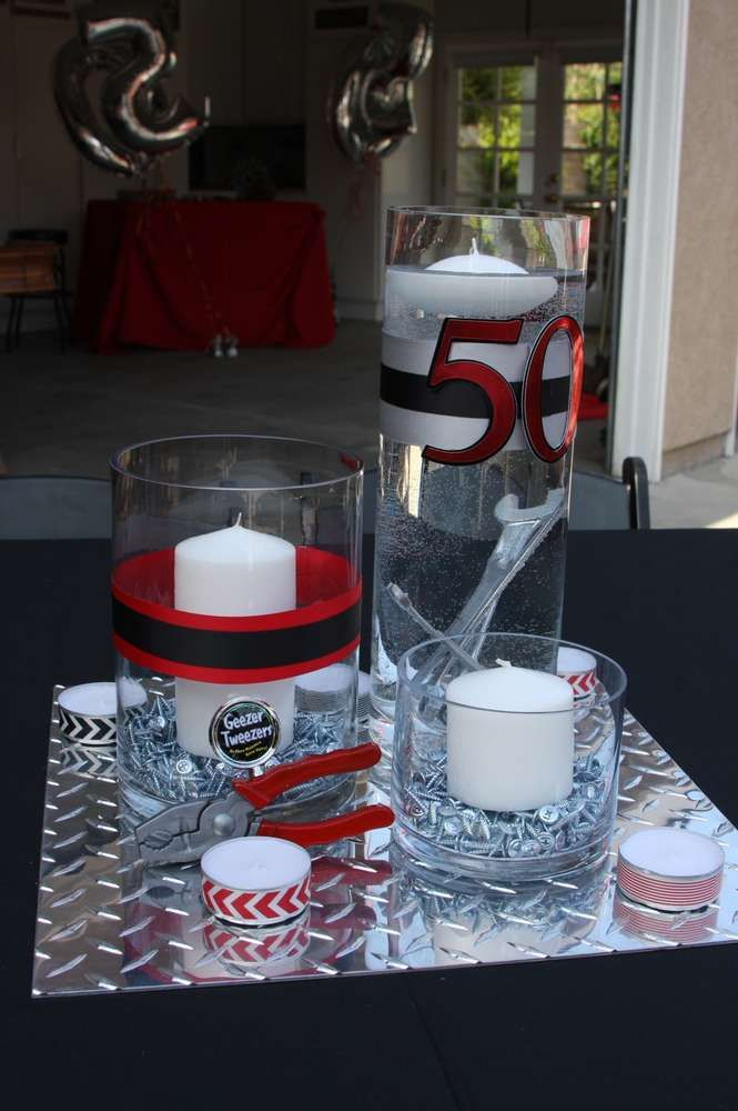 25 best ideas about tool birthday parties on pinterest for 50th birthday decoration ideas for men