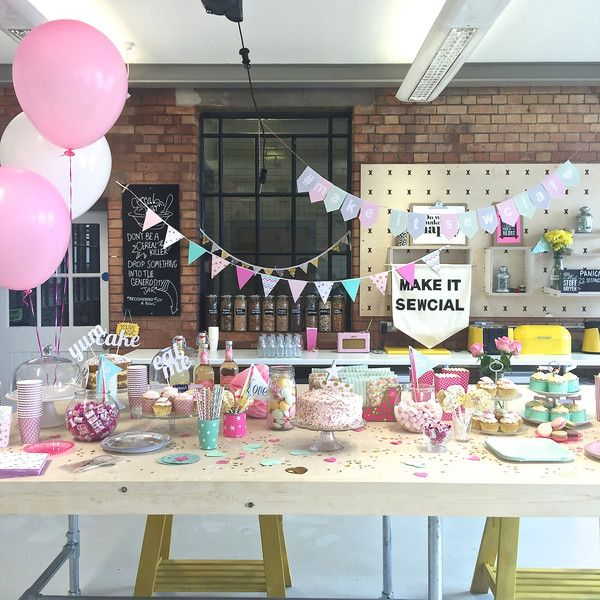 The Make it Sewcial Meet up part 1... A dream come true – the magical styling... my favourite bit!