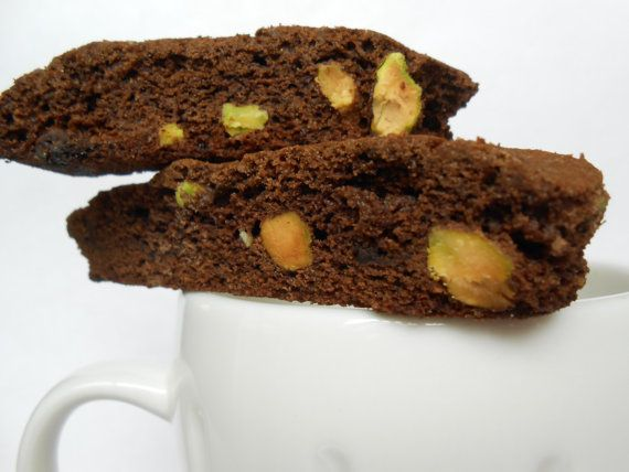 Double Chocolate Pistachio Biscotti by BellaStellaCrafts on Etsy, $2 ...