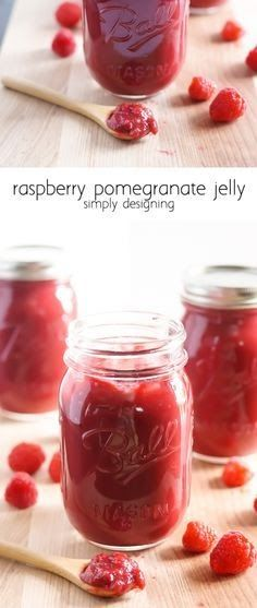Homemade Jam Recipe | Raspberry Pomegranate Jelly