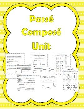 Activities to teach the passe compose