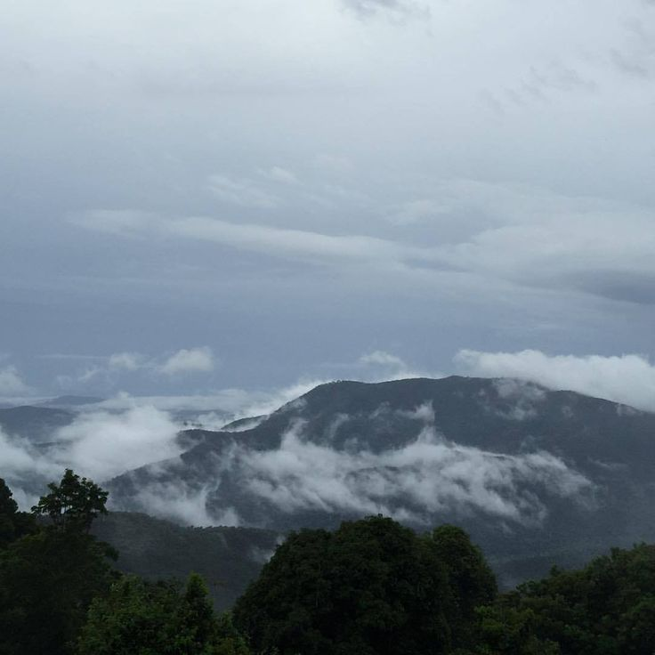 No sun, When you are on top of Tamborine Mountain on  the edge there is always a view from Exhale Mountain & Sea views.