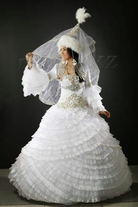 Kazakh wedding dress