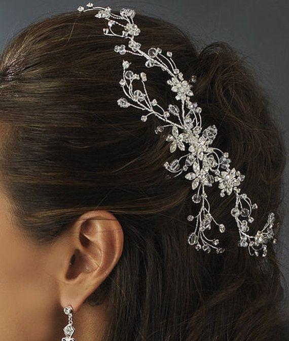 Etsy.com/listing/225345181/swarovski-crystal-bridal-hair-vine-comb