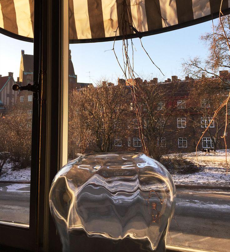 ONE OF THE MANY BEAUTIFUL WINDOW VIEWS FROM ETT HEM  #GREATDANESTOCKHOLM  #GREATDANESTOCKHOLMFAIR  #GREATDANETRAVELS