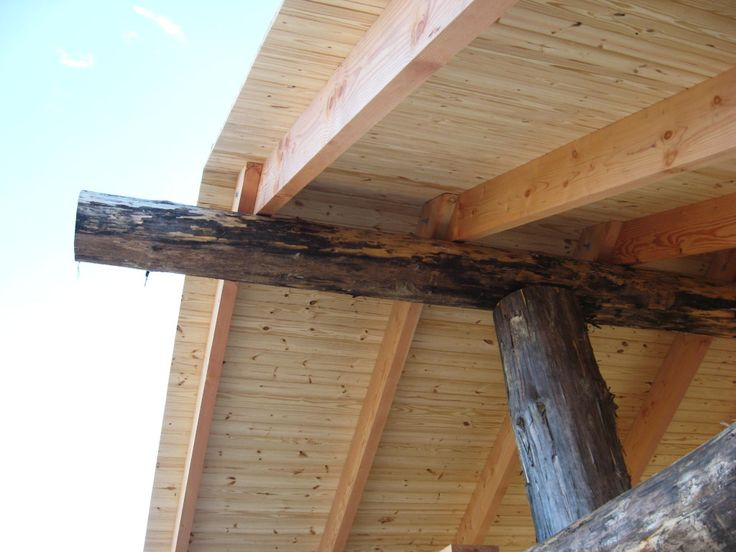 1 Select 2x6 Tongue And Groove With Pine Beams