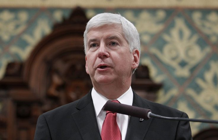 The Flint disaster is Rick Snyder's fault