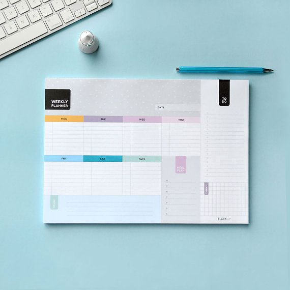 Weekly Planner A4