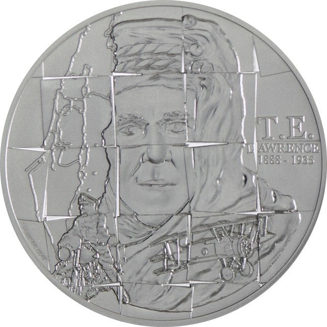 2 Dollar Silber Lawrence von Arabien PP