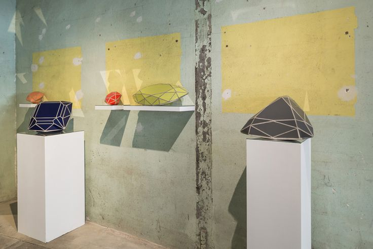 Zhanna Kadyrova, Diamonds, serie, 2012, tiles, cement. Galleria Continua Les Moulins, 2015. Photo by Oak Taylor-Smith