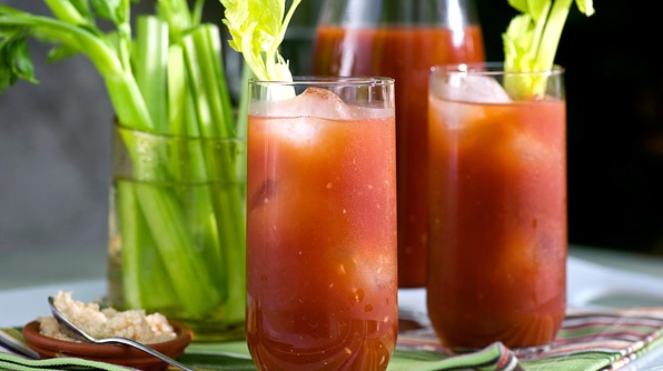 It's everyone's favorite spicy brunch cocktail, the Bloody Mary.