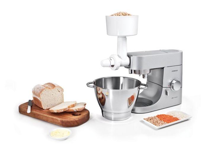 KENWOOD | Macina Granaglie Per Impastatrici Planetarie Kitchen Machine Chef / Major [video] - http://www.complementooggetto.eu/wordpress/kenwood-macina-granaglie-impastatrici-planetarie-kitchen-machine-chef-major-video/