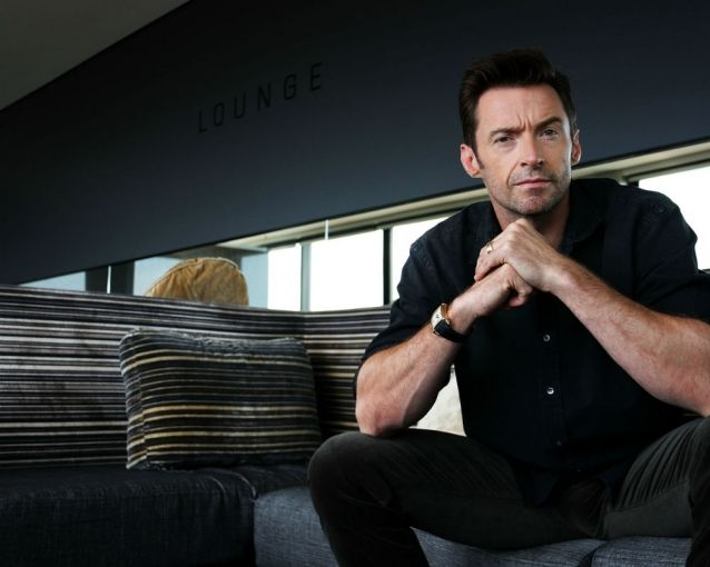 A video of Hugh Jackman shows the actor rescuing both his son and others from a dangerous rip current in Australia