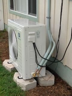 24,000 BTU 2 Ton Ductless Air Conditioner & Heat Pump -- 220V  <1,200 s.f.  $1549 + installation