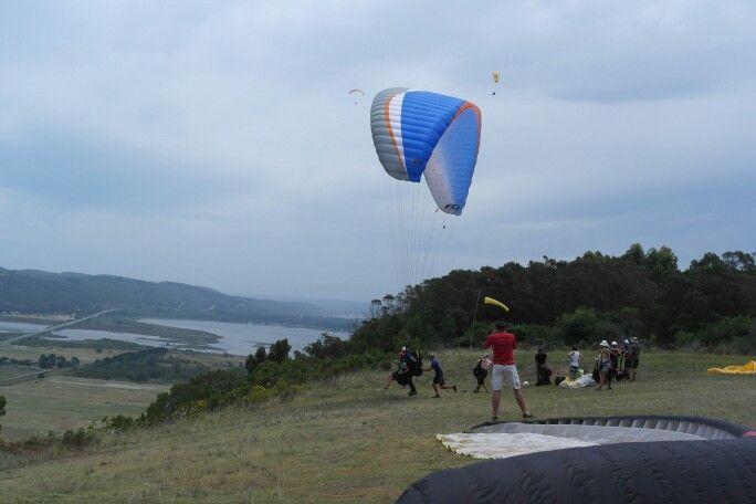 Sedgefield paragliding