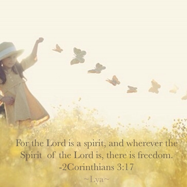 8539080a5925 2 Corinthians 3 17-18 Now the Lord is the Spirit