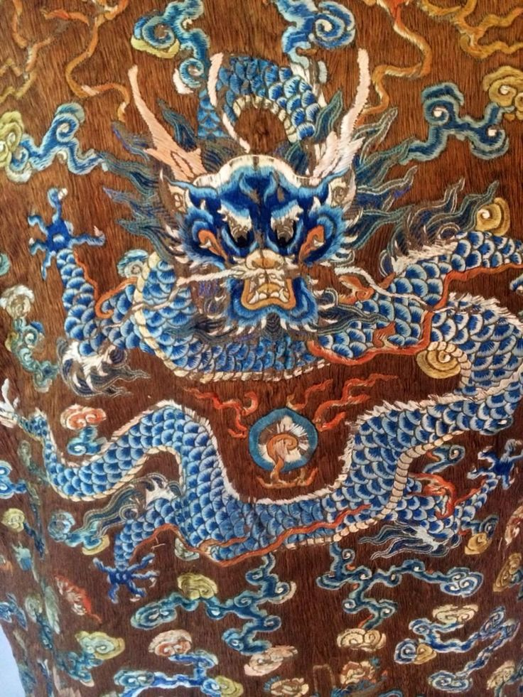 Breath Taking Antique 19th Century Imperial Chinese Silk ...